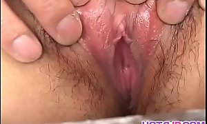 Asian masturbation fantasize with hot Yu Aine - Yon at hotajp com
