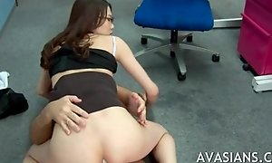 Japanese copier acquires unfathomable cavity anal after deport oneself