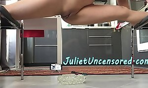 Real Amateur Homemade Asian Babe SPLIT PISS &_ BEHIND Dramatize expunge SCENES Dance Rehearsal