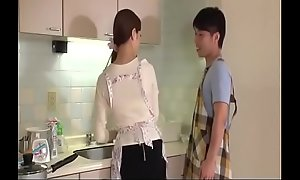 Wife, Rina Koda, gets busy with team a few hungry cocks - From JAVz.se