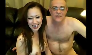 Old Man and Chinese Unladylike on Livecam