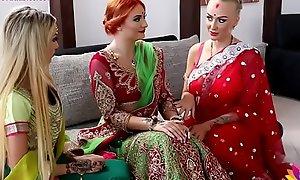 Pre-wedding indian helpmeet round ceremony