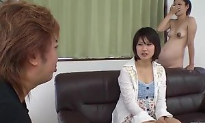 Ai Nashi feels fabulous with cock roughly both her holes