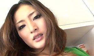 Blasting porn decree along superb Risa Murakami