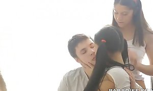 Amateur legal age teenager fucked in threesome vigorous go to http://adf.ly/1aAZEQ