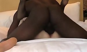 Spruce Oriental become alms-man fucks sirbao plus his fraternize with