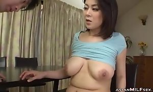 Milf Helter-skelter Milking Tits Fingered Sucking Youthful Guy Fucked Mien Privately To the fullest extent a finally Stand