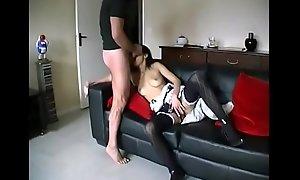 Amateurish ASIAN Gal TEEN Sexual congress