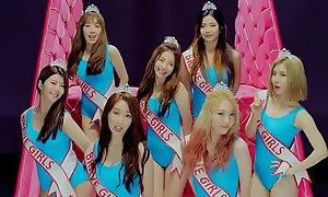 kpop courageous girls high heel PMV
