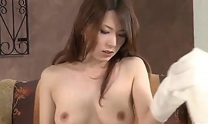 Yui Hatano sucks cock and copulates like an promoter
