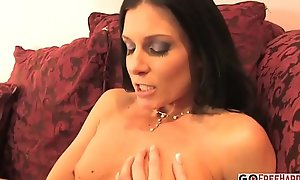 AMERICAN BRUNETTE IS MILF Bonks ASIAN MAN INTERRACIAL
